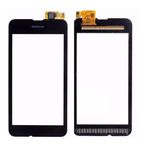 pantalla vidrio tactil touch nokia lumia 530 colocada 1 hora
