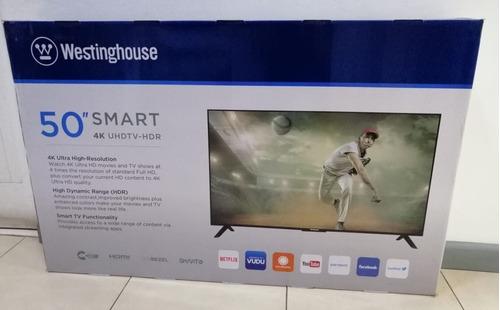 pantalla westinghouse 50  4k smart tv, grupo villa