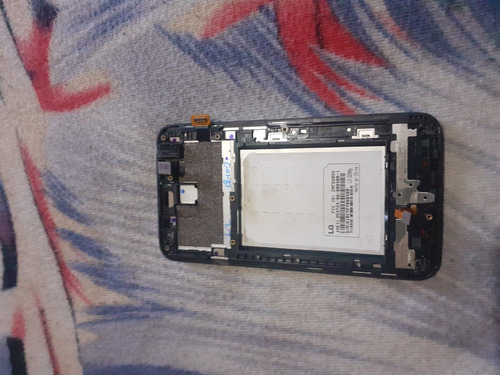 pantalla y mica del lg-d280g usada