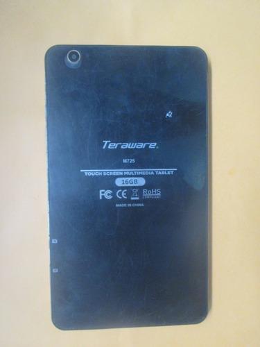 pantalla y placa de tablet teraware m725 - repuestos