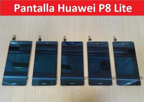 pantalla y tactil completa huawei p8 lite san borja