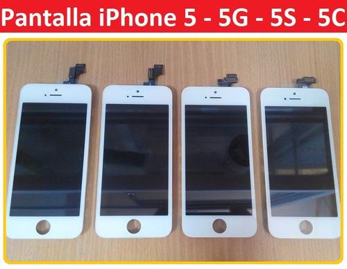 pantalla y tactil completa iphone 5 5s 5c san borja