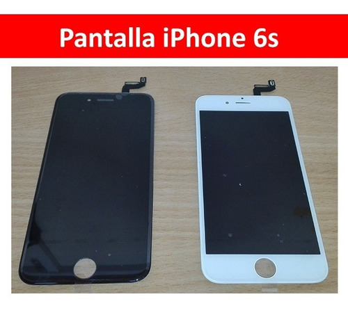 pantalla y tactil completa iphone 6s san borja