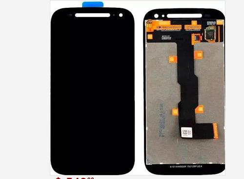 pantalla y touch lcd dislpay moto g2 motorola lcd con evio