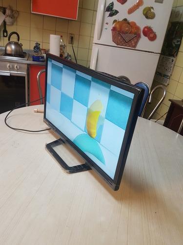 pantalla/monitor  bluesens 24 pgd como nueva al 100%