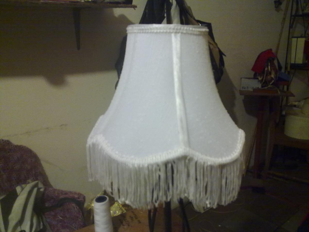 Pantallas artesanales para lamparas fabrica mesa techo pared en mercado libre - Pantallas de lamparas de mesa ...
