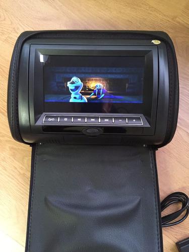 pantallas cabeceros  de 7  led dvd/usb/sd audifonos ir