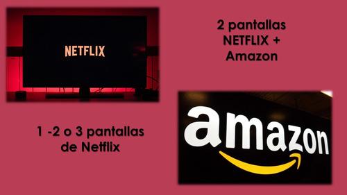 pantallas de netflix y amazon