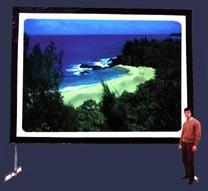 pantallas de proyeccion