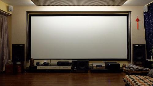 pantallas de proyección eléctricas 200 profesionales 16:9 !!