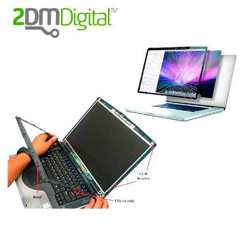 pantallas display laptops lcd & led nuevos y con garantia