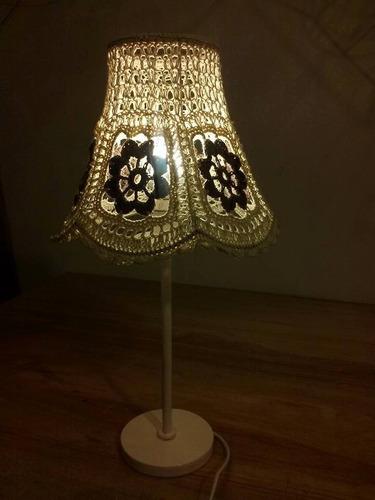 Pantallas en crochet lamparas fabrica iluminacion for Fabricas de muebles en montevideo uruguay