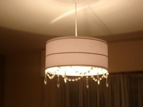 pantallas en macramé,lamparas,fabrica,iluminacion,artesanal