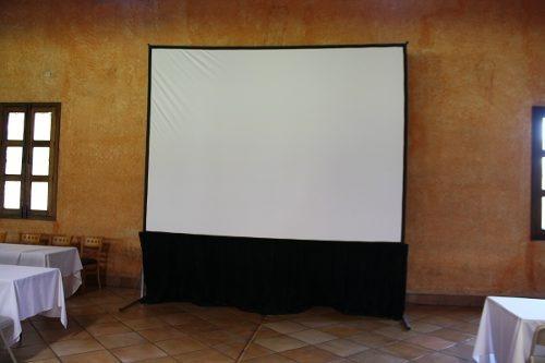 pantallas eventos proyectores