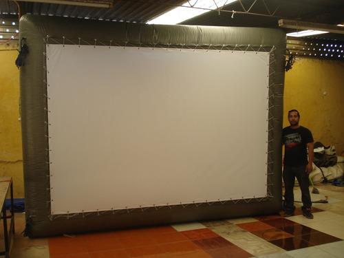 pantallas inflables renta y venta.