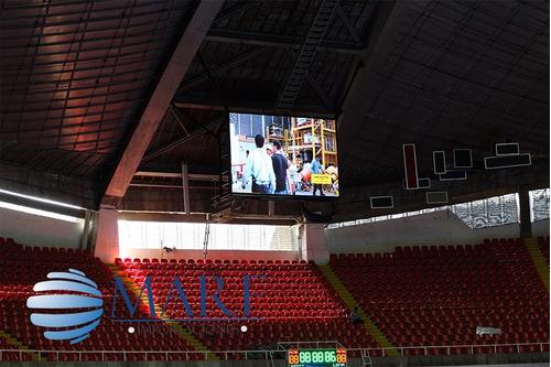 pantallas led gigantes marf p10 p8 exterior  de alta calidad