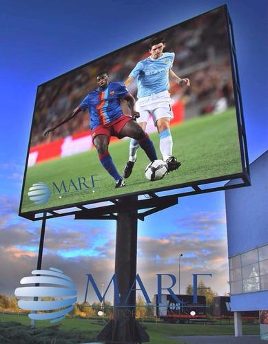 pantallas led gigantes marf para publicidad outdoor-indoor