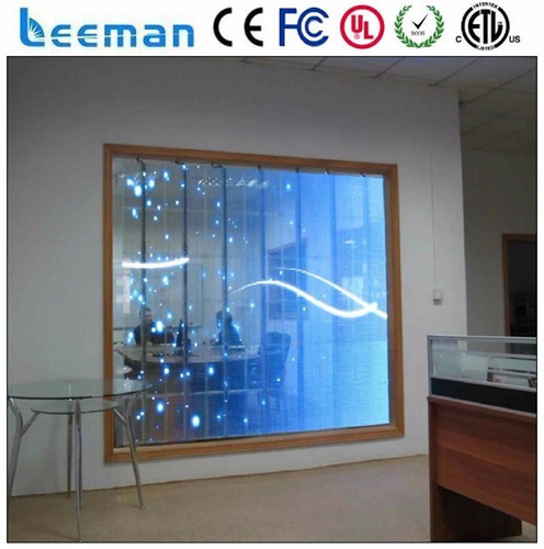 pantallas leds transparentes alquiler y venta