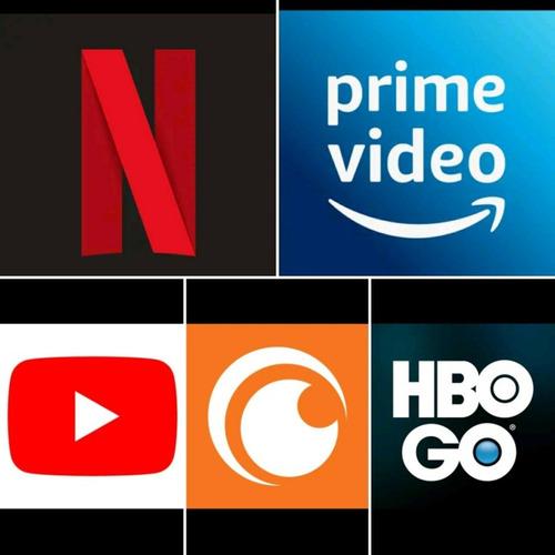 pantallas netflix, hbo, prime video etc