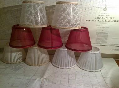 Pantallas para lamparas colgantes artesanal fabrica for Fabrica sillones montevideo