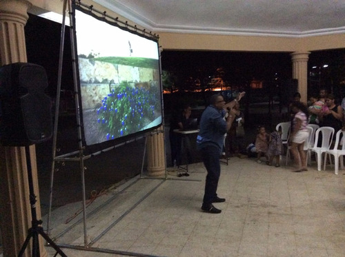 pantallas para proyeccion gigantes