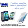 Cristal Protector Para Samsung Galaxy S4 Mini (instalación)