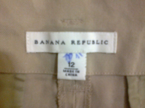 pantalòn banana republic talla 44 chile