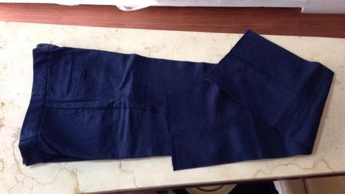 pantalón 100% lino para caballero varios colores
