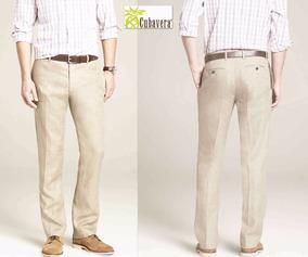 Pantalon De Lino O Manta Cubavera 30x30 Cafe Hombre Pantalones Y Jeans Para Hombre En Mercado Libre Mexico