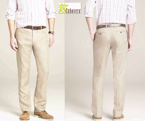 c515ce7fe2 Pantalon Cubavera De Lino Talla 40 42 De Caballero - Pantalones y ...
