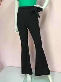 Pantalón Acampanado Negro