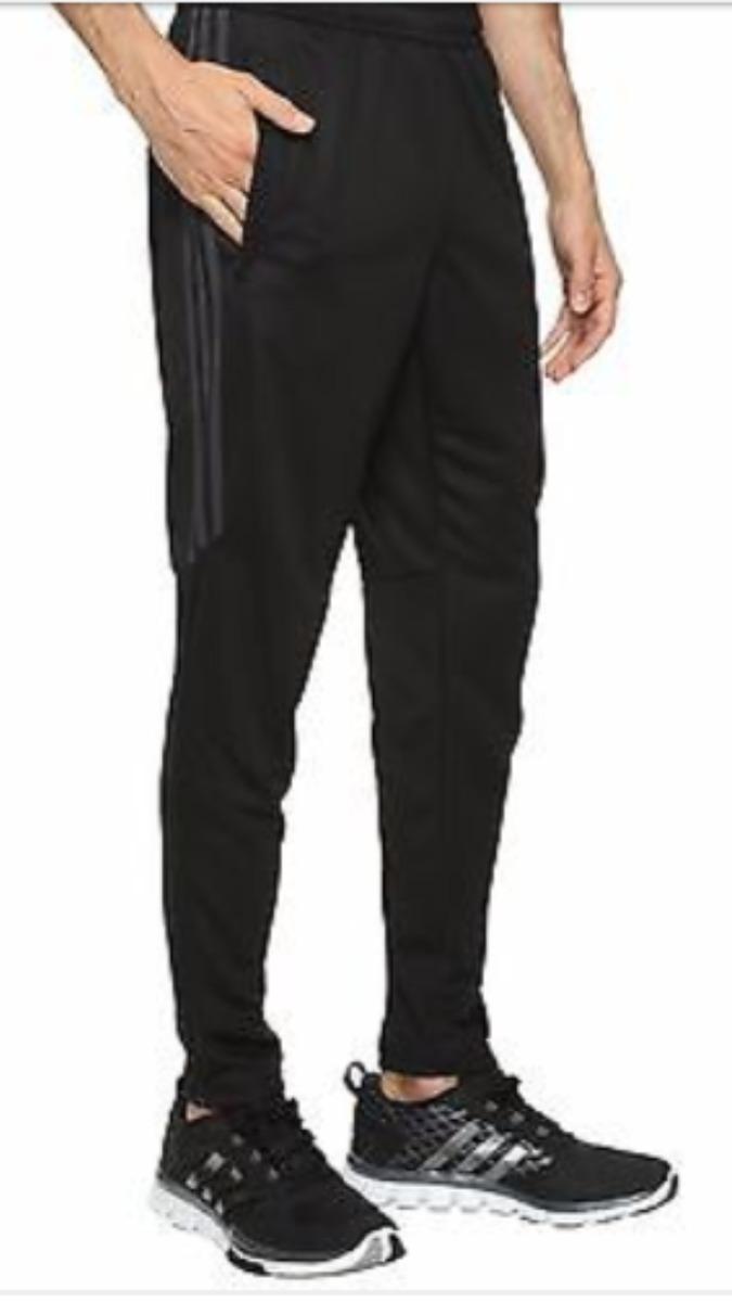 edddbf1db65 pantalon adidas chupin tiro 17 negro gris. Cargando zoom.