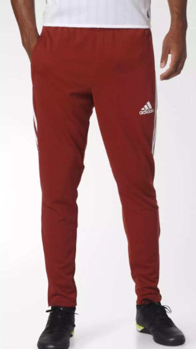 7d38458f432 pantalón adidas chupin tiro 17. rojo blan. Cargando zoom.