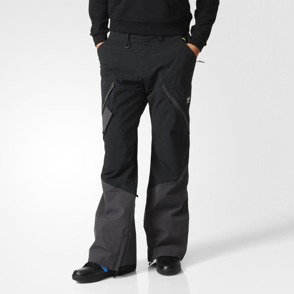 8007c309f0c21 pantalón adidas impermeable snowboardin nieve hombre talla l. Cargando zoom.