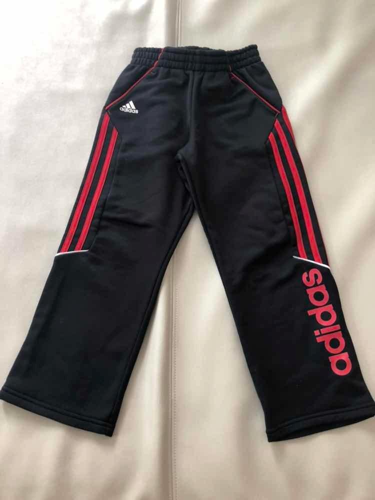 Talle Buen 250 7 Negro Adidas Pantalón 00 Rojo Y Original Muy Estad vIgUTw