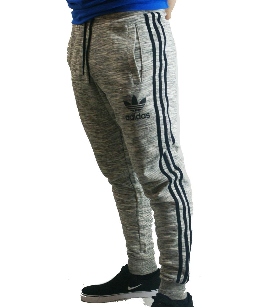 pantalon adidas originals con puño gris hombre deporfan. Cargando zoom. 4b89161b7f69