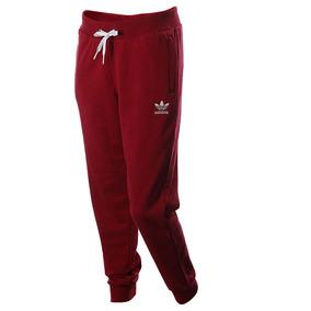 Pantalón adidas Originals Regular Cuffed Rojo Mujer