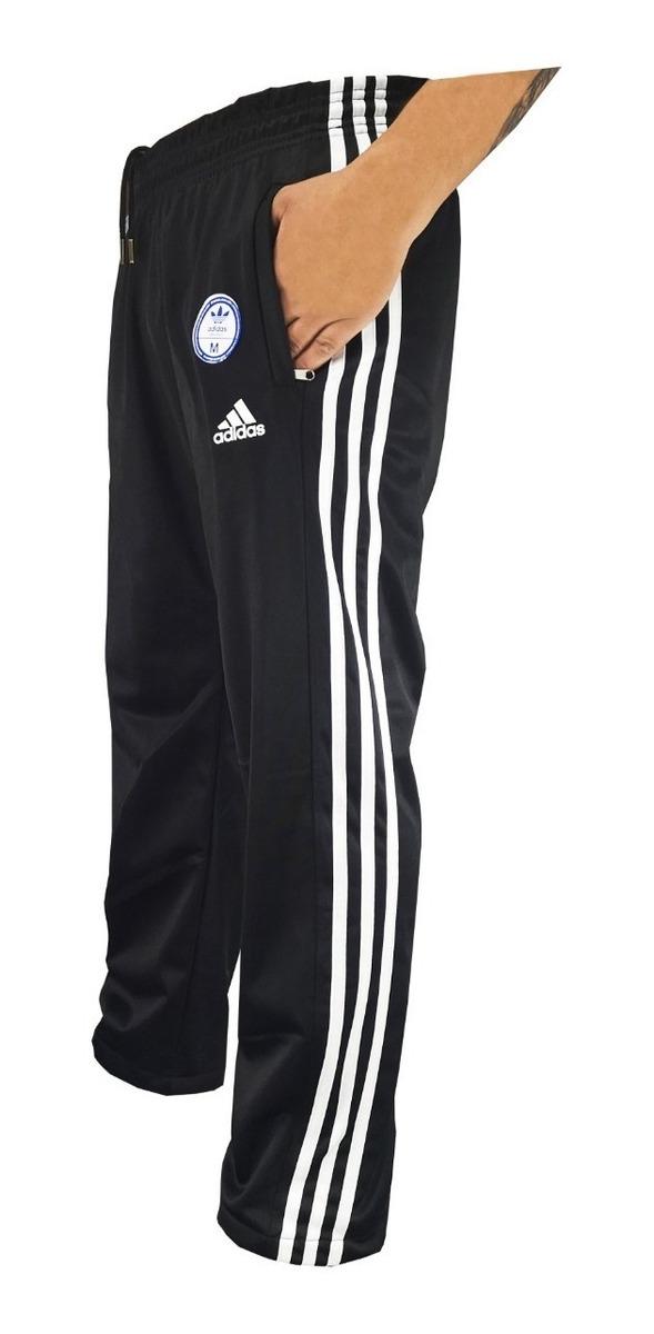 Clasico adidas Pantalon Hombre Con Recto Bolsillo Cierre JclFK3T1