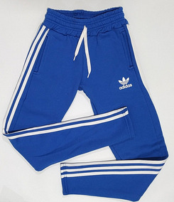 Pantalon adidas Retro Tres Tiras Azul Unisex