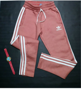 Pantalon adidas Retro Vintage Rosa Super Calentito Invierno