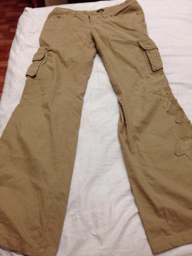 pantalón aisthi kaki dama 12 green usado!!!