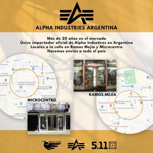 pantalón alpha industries disbandment importados