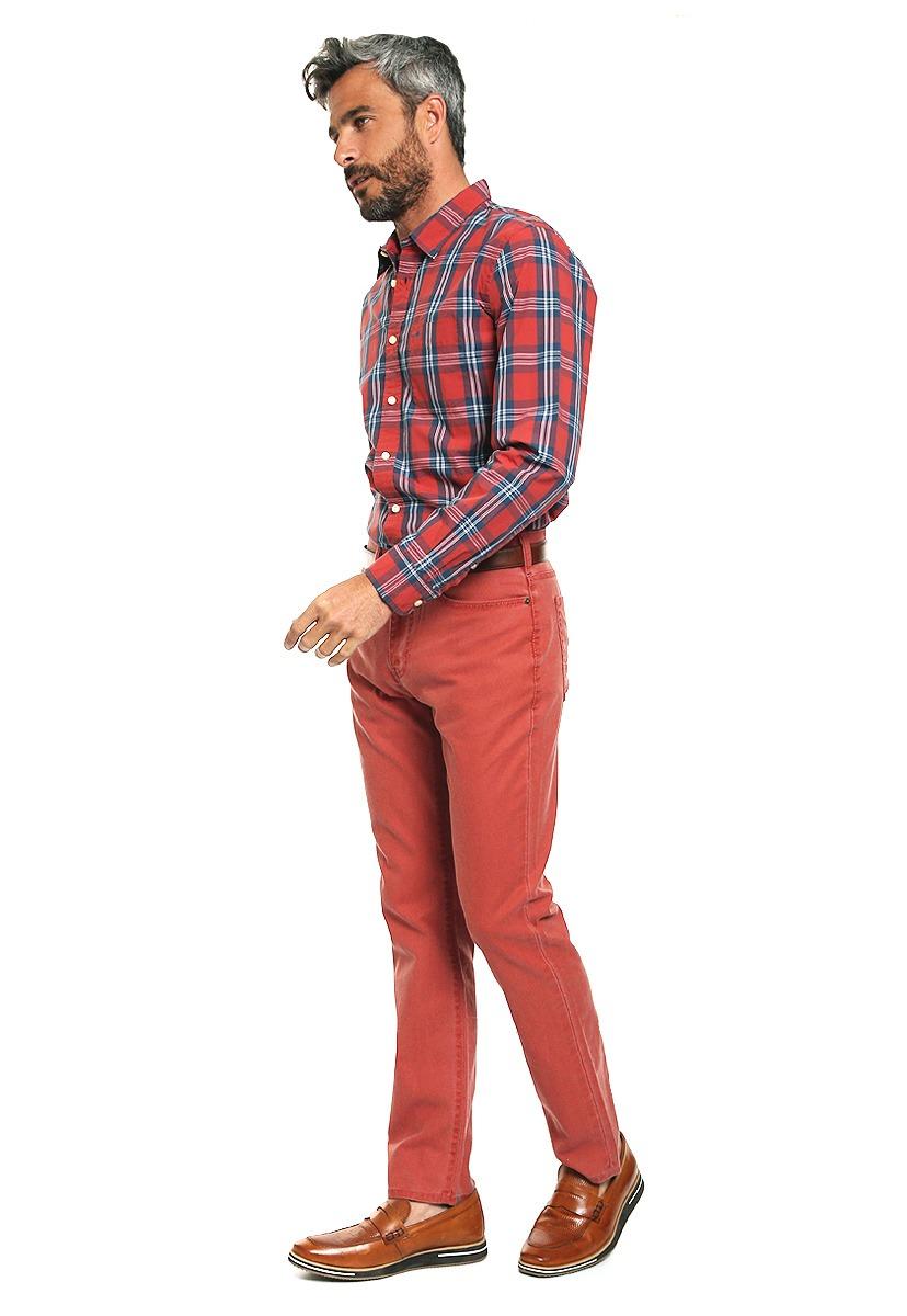 pantalón athletic fit rojo - dockers - 946123 - rojo. Cargando zoom. 30840299b36c9