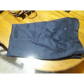 Pantalon Azul De Sarga 42/44
