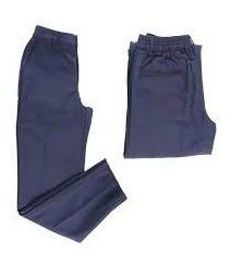 pantalón azul escolar juvenil para damas sin bolsillos