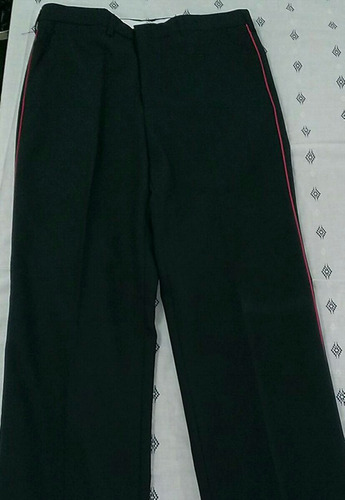 pantalon azul marino d2 bombero talla 36