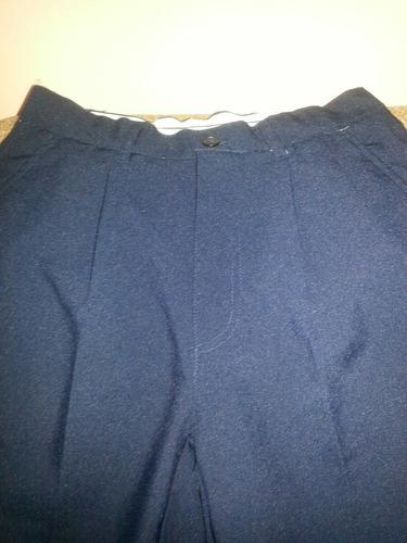 pantalon azul  talla 30 colegio, clases