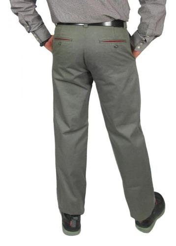 pantalon azzaro paris talla 32 color verde claro