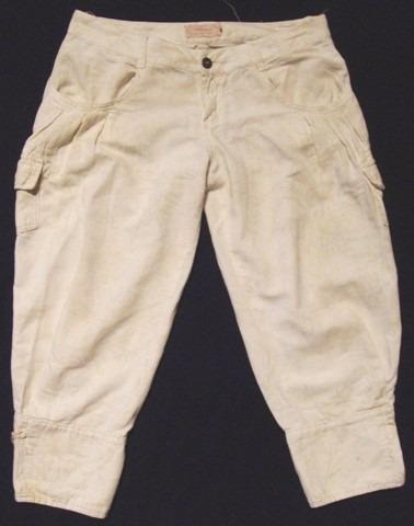 pantalon babucha capri wanama,estampado,talle 42,impec
