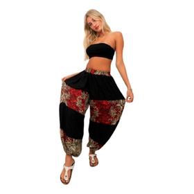 Pantalon Babucha Yoga Meditacion Tai Seda/razo Xl/xxl Grand2